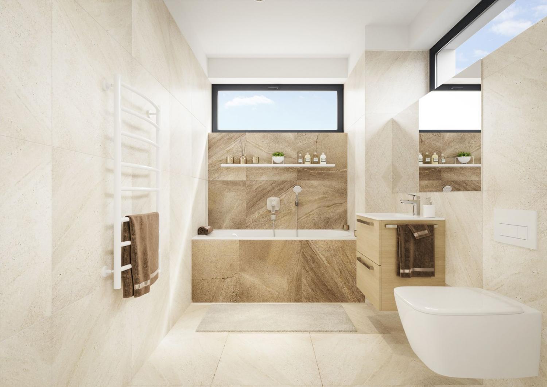 Koupelna - vizualizace